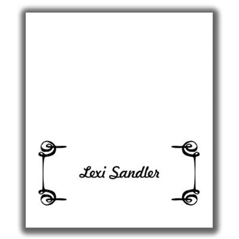place card template 12x12 place card template 3