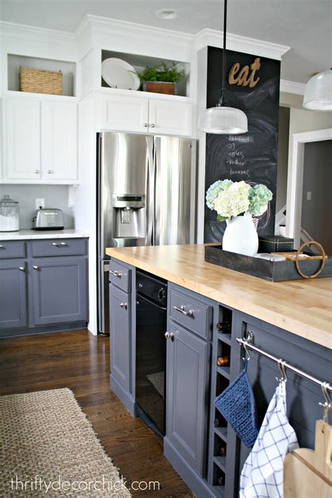 what to look for in kitchen cabinets building in a fridge with cabinet on top from thrifty