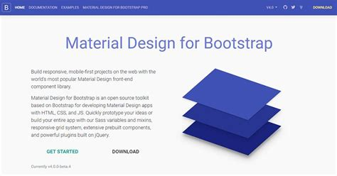 bootstrap material design layout top 10 free bootstrap ui kits for customizing your layouts
