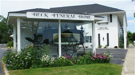 michigan 1001 daily photo the beck funeral home hearse in
