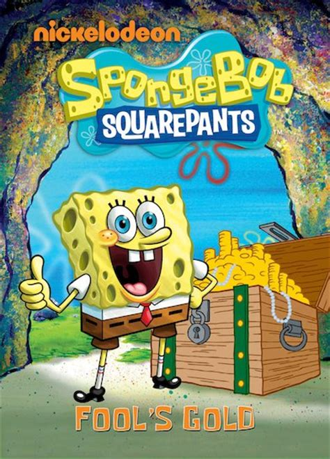 spongebob s secret book spongebob fool s gold scholastic club