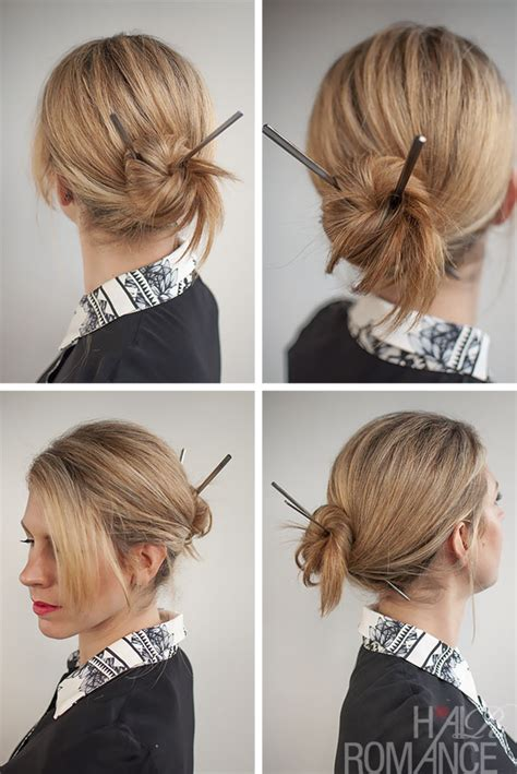 hair plait with chopstick the gallery for gt japanese hairstyles with chopsticks
