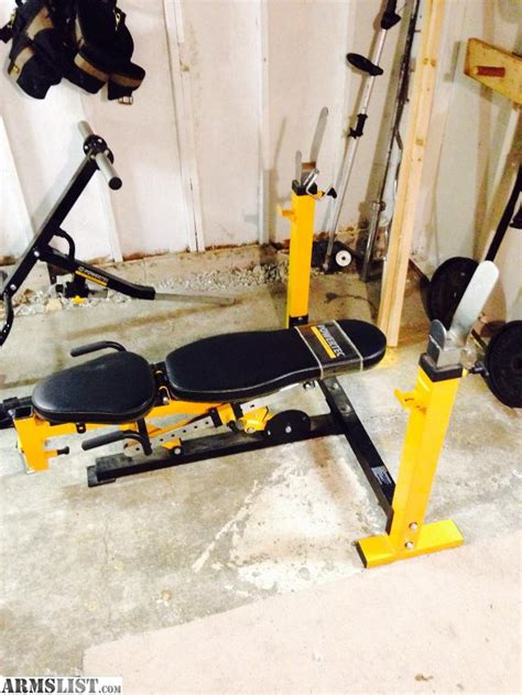 powertec workbench olympic bench armslist for sale powertec olympic weight bench