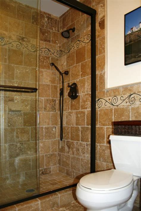 bathroom travertine tile design ideas pictures for works of tile kitchen cabinet design