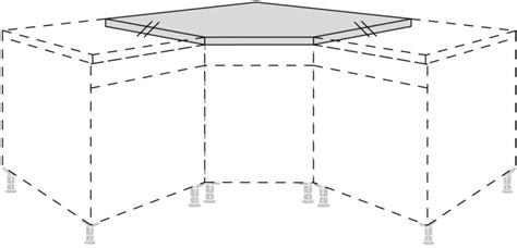 arbeitsplatte zuschneiden ecke nobilia eck arbeitsplatte 135 176 f 252 r diagonale unterschr 228 nke