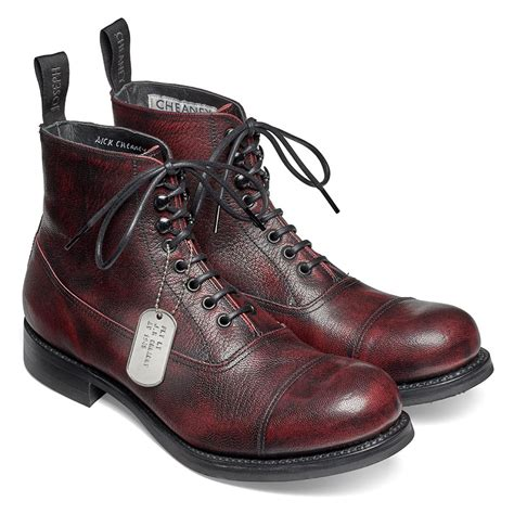 Boots R Style cheaney lancaster black cherry style ankle boots made in