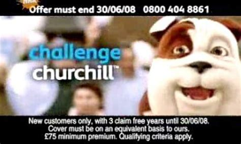 churchill house insurance churchill ad challenged successfully in complaint to advertising standards authority media