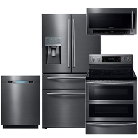 black kitchen appliance packages summer doorbuster sale appliancesconnection home