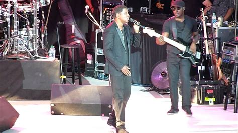 babyface performing quot soon as i get home quot live the