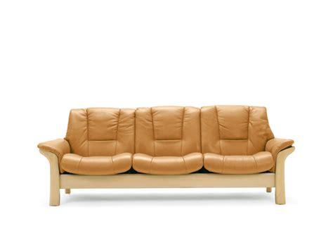 buckingham sofa buckingham 3 seater sofa lowback from stressless