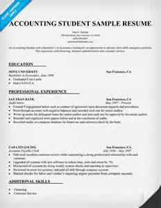 accountant resume sle sle resumes