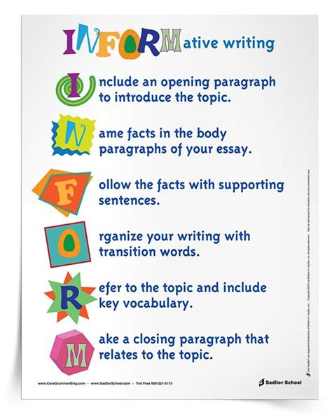 Explanatory Essay Topics by Informative Explanatory Writing In The Classroom Grades 3 12