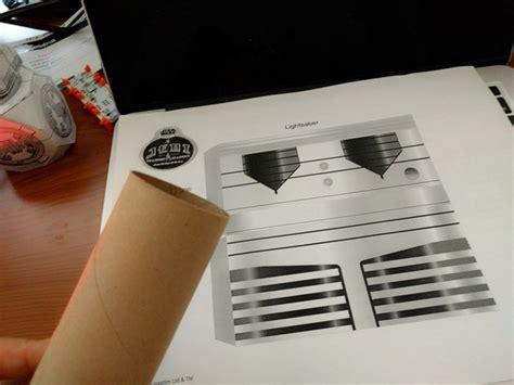Wars Lightsaber Papercraft - cloud controlled augmented reality lightsaber bitwars a