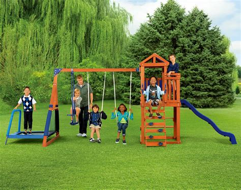 jump swing metal backyard swing set outdoor for the from kmart