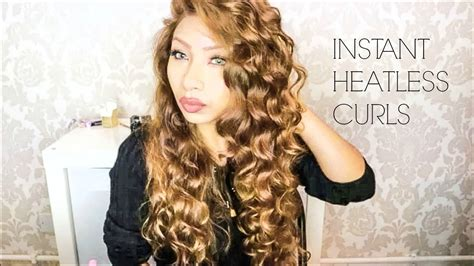 rod curl straight hair heatless curls with flexi rods on straight hair youtube