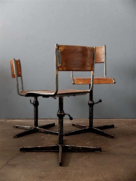 vintage stuhl fabrikstuhl works berlin echte vintage industriedesign
