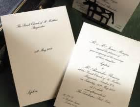 smythson wedding invitations classic traditional wedding invitation