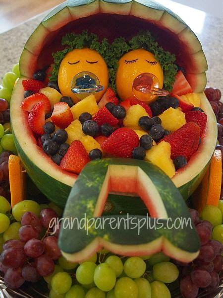Baby Shower Fruit Watermelon by Fruit Salad For A Baby Shower Baby Buggy From A