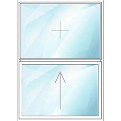 schiebefenster horizontal schiebefenster aus kunststoff