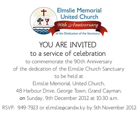 church anniversary cards printable church anniversary invitation letter 66 images