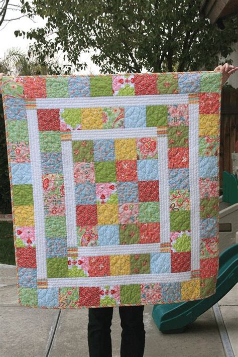 Easy Baby Quilt Blocks by And Easy Baby Quilt New Will