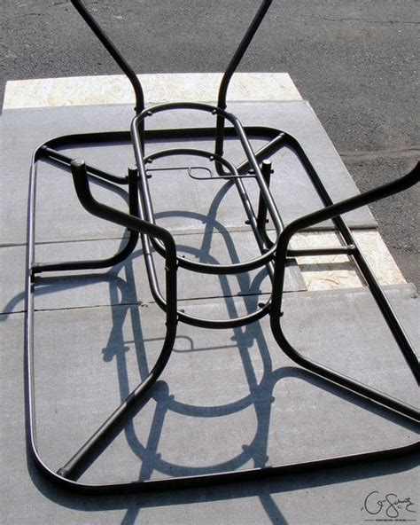how to a tile table top remodelaholic how to replace a patio table top with tile
