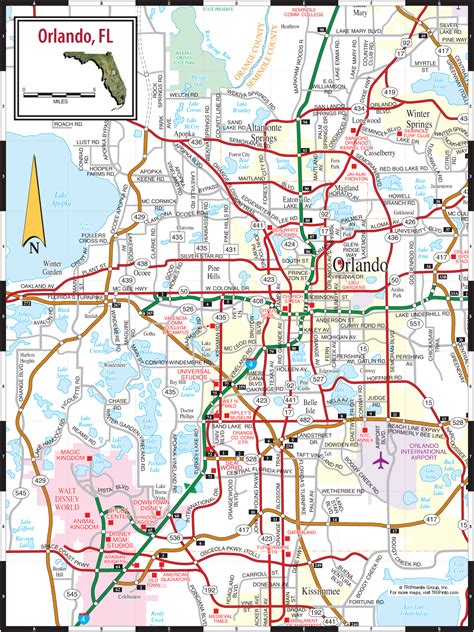 city map of orlando florida orlando city map orlando fl mappery