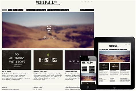 theme wordpress vertical vertical responsive wordpress theme wordpress minimal
