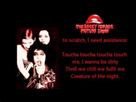 Touch Me L by Toucha Toucha Touch Me Rockey Horror Picture Show
