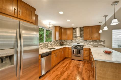 quartz countertops with light oak cabinets honey oak cabinets with granite countertops fanti blog