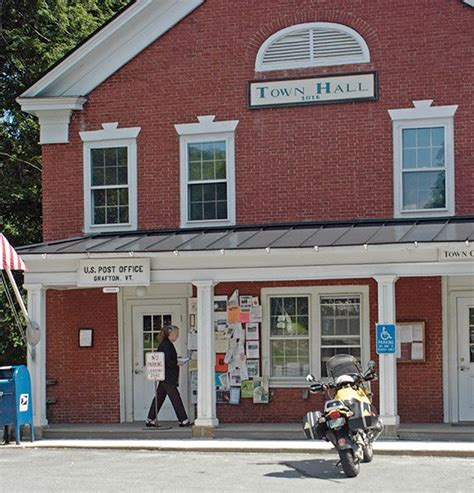 Royalton Post Office by Roads And Aged Cheese A Moto Foodie On The Vermont