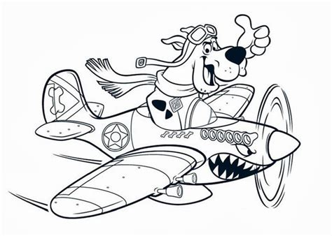 scooby doo coloring page free coloring pages and
