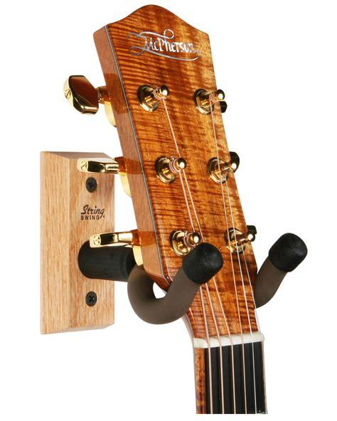 swing instruments hardwood home studio guitar keeper wall mounted guitar