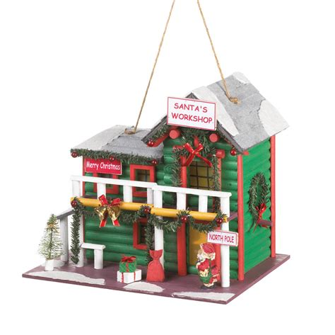amazon uk christmas novelties wholesale wholesale santa s workshop birdhouse buy wholesale birdhouses
