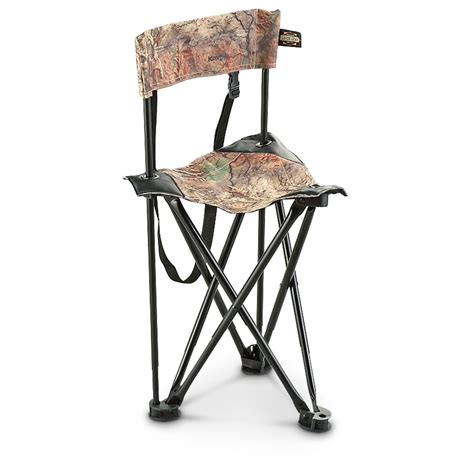 Ground Blind Chairs by Guide Gear Tri Leg Chair 593914 Ground Blinds At