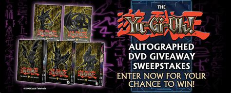 Yugioh Sweepstakes - yu gi oh sweepstakes here s your chance to own a piece of yu gi oh history