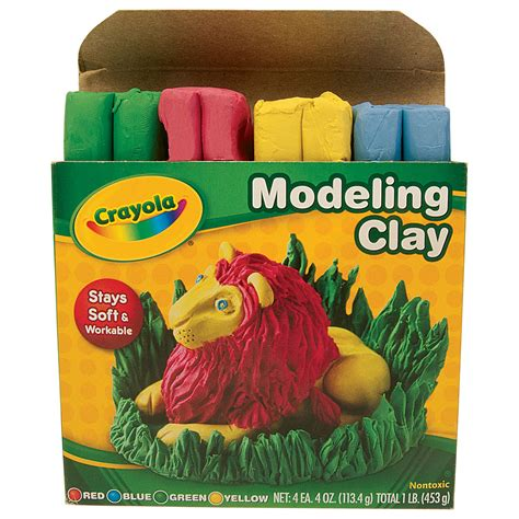 Modeling Clay 15 modeling clay w37660