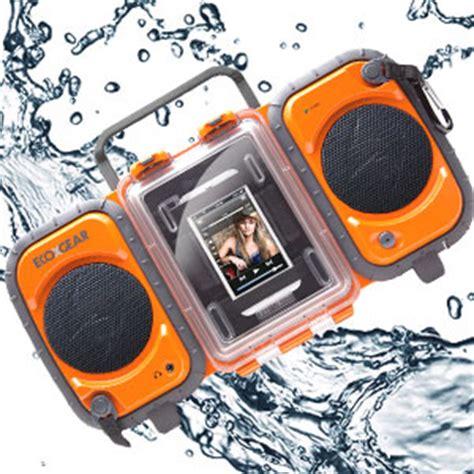 rugged boombox ecoxgear rugged and waterproof stereo boombox gdi aq2si60 home audio theater