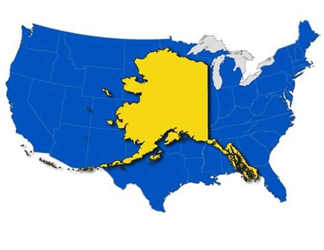 alaska map compared to us alaska visitors things i wished i knew before visiting alaska