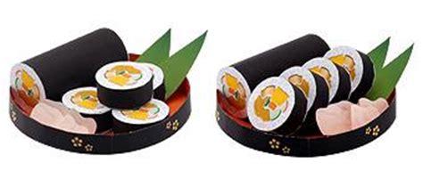 Sushi Papercraft - sushi papercraft papercraft paradise papercrafts