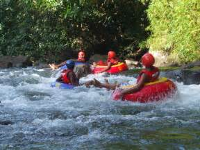 River Tubing Antours Dominica Limited River Tubing On The Layou River