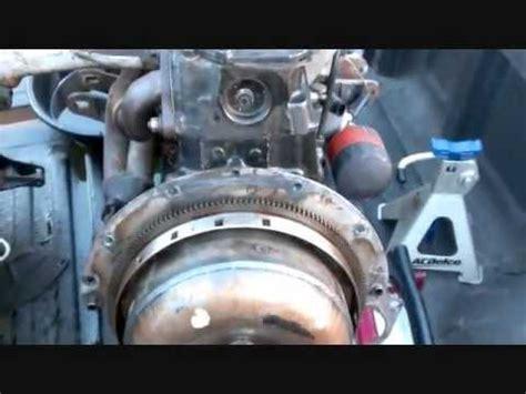 remove engine  seized torque converter  flywheel youtube