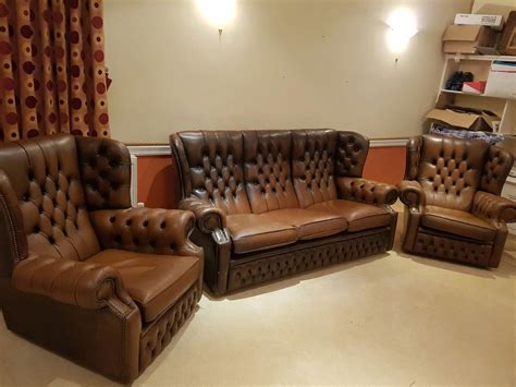 Vintage Chesterfield Sofas For Sale In Uk View 99 Ads Used Chesterfield Sofa For Sale