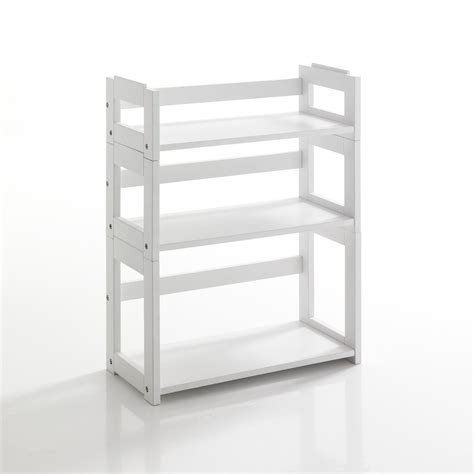 libreria modulare libreria modulare sheva 3 ripiani in legno massello bianco