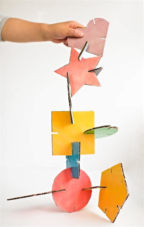 Geometric Paper Sculpture Templates
