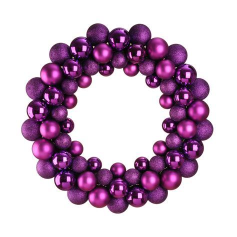 bauble wreath bauble wreath purple dzd