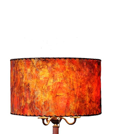 Handmade Light Shade - drum shades rustic artistry