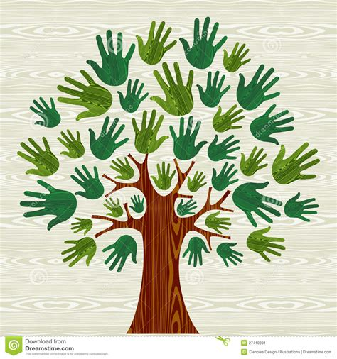 environmentally friendly trees eco friendly tree stock vector image of environment 27410991