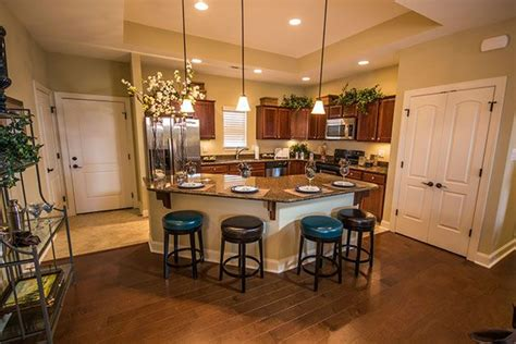 the island in this kitchen great for entertaining kitchens kitchendesigns kitchen