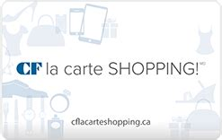 Cadillac Fairview Gift Cards - online gift cards cf shop card